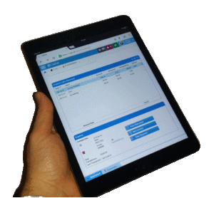 Manage your customers and send invoices anywhere